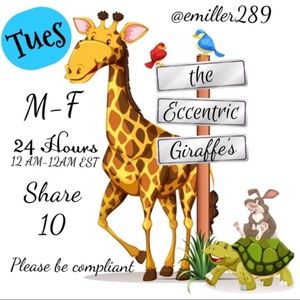 🦒🦒 TUESDAY 10/22 FINAL LIST HERE 🦒🦒